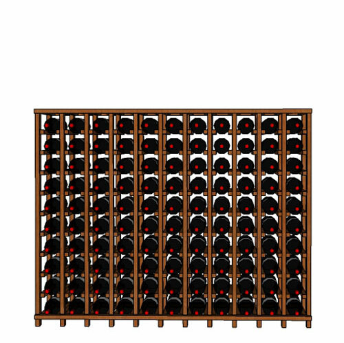 Rebrilliant Lurmont Series 110 Bottle Floor Wine Bottle Rack Wayfair