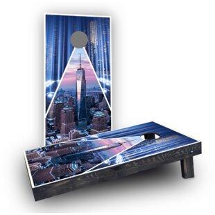 Custom Cornhole Boards 9/11 Tribute Light Weight Cornhole Game Set