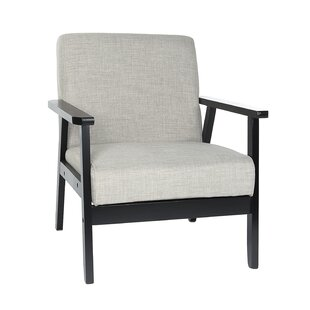 Winni Upholstered Fabric Accent Armchair by Latitude Run