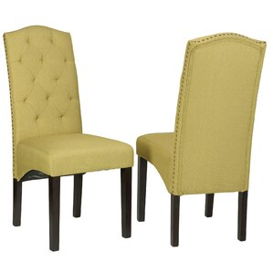 Imane Camelback Parsons Chair (Set of 2) by Willa Arlo Interiors