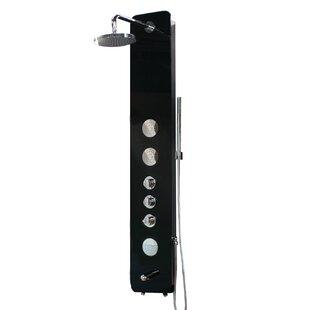 Glass Waterfall Diverter Handheld Shower Panel by Jade Bath