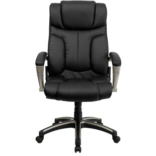 Flash Furniture Personalized Leather Exec..