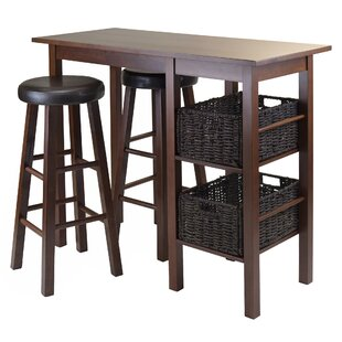 Weldon 5 Piece Pub Table Set Red Barrel Studio