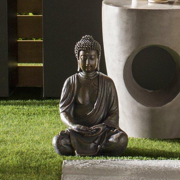 Large Garden Buddha Statues Wayfair