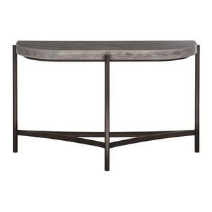 semi circle console table wayfair rh wayfair com Curved Sofa Circular Lounge Sofa