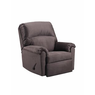 Simmons Upholstery Chess Manual Rocker Recliner