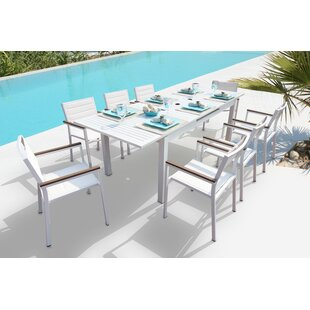 Orren Ellis Rizzuto 9 Piece Dining Set