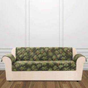 Lodge Pinecone Box Cushion..