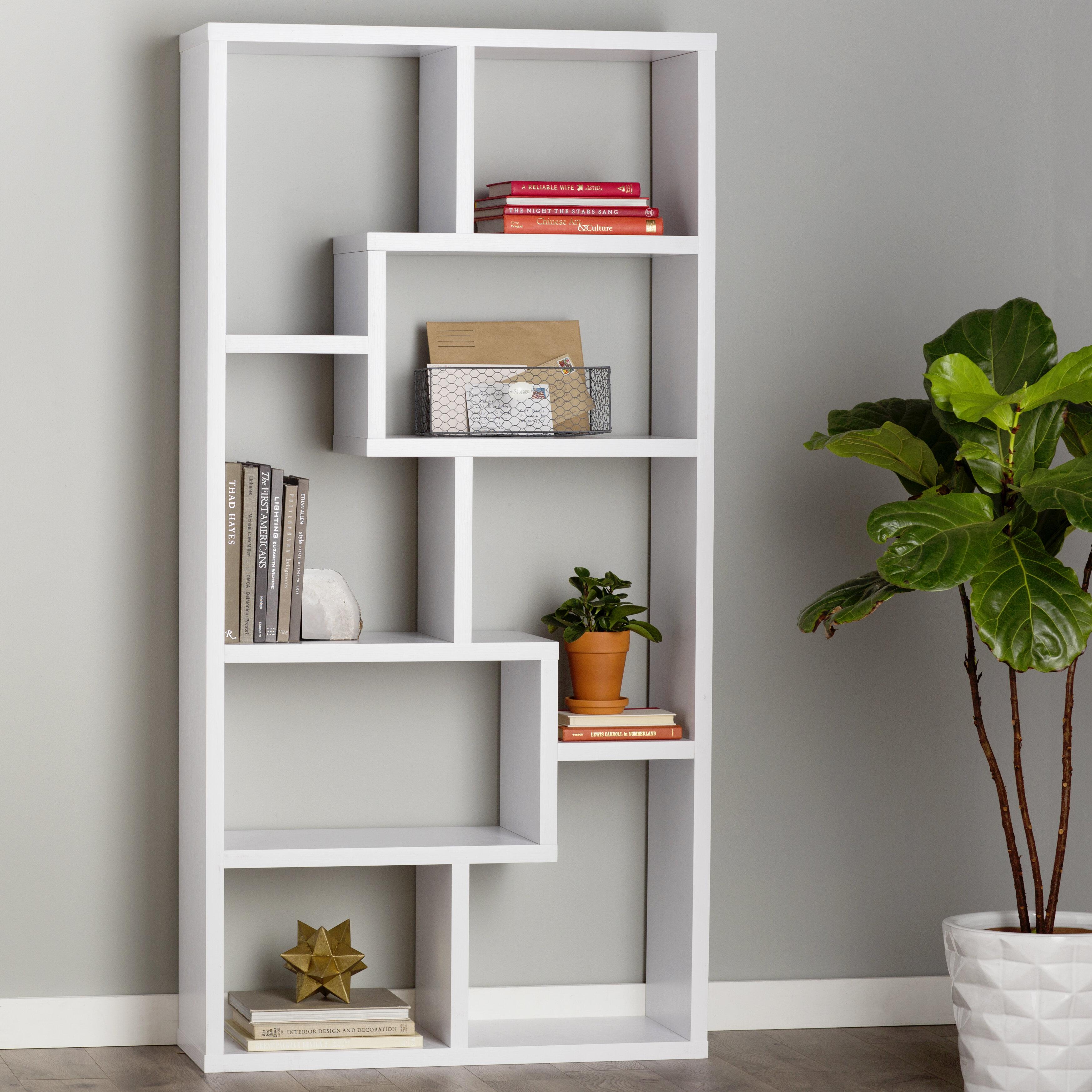 Chrysanthos Geometric Bookcase