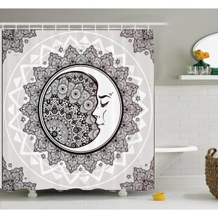 Cliff Bohemian Pattern Shower Curtain Set