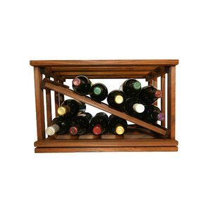 Allaire 12 Bottle Tabletop Wine Rack by Darby Ho..