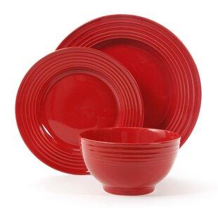 Lachlan 12 Piece Dinnerware Set, Service for 4