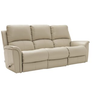 Kennedy Genuine Leather 3 Seater Reclining Sofa By La-Z-Boy UK