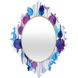 Deny Designs CMYKaren Abstract Wall Mirror