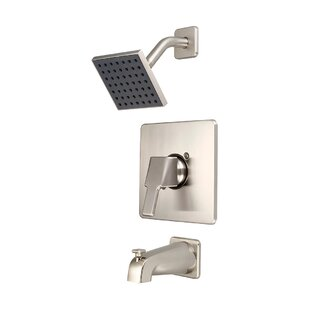 Savings Single Handle Tub and Shower Faucet Trim with Diverter ByOlympia Faucets