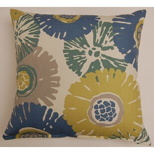 Starburst KE 100% Cotton Throw Pillow
