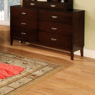 Bentonville 6 Drawer Double Dresser