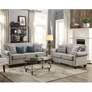 Heflin 2 Piece Living Room Set by Alcott Hill