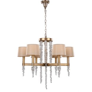 House of Hampton cornelio 6-Light Shaded Chandelier