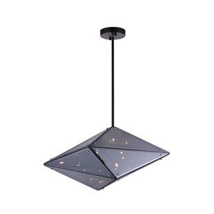 CWI Lighting Pento 8-Light Geometric Chandelier