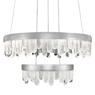 Lior 32-Light Geometric Chandelier by Fine Art Lamps