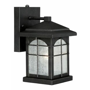 Deals Feeley 1-Light Outdoor Wall Lantern By Charlton Home