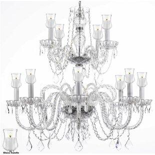 Astoria Grand Loaiza 12-Light Candle Styl..