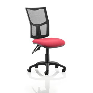 Eclipse II Mid-Back Mesh Desk Chair By Symple Stuff