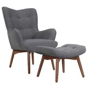 Corrigan Studio Ansley Lounge Chair and Ottoman