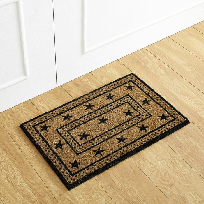 more door back mat vinyl doormat coco hello coir mats n