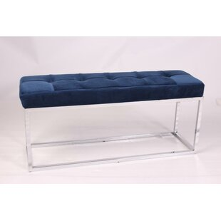 Caudillo Upholstered Bench by House of Hampton