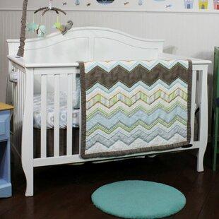 Best Cullen 3 Piece Crib Bedding Set ByHarriet Bee