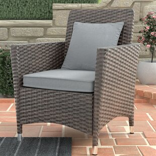 Derby Patio Dining Chair with Cushion (Set of 2)
