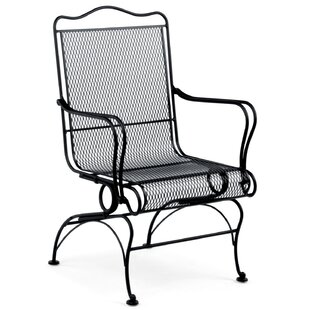 Tucson High Back Coil Spring Patio Chair with Cushion