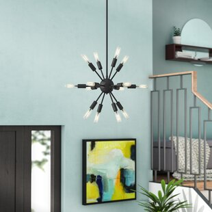 Wrought Studio Whitehall 12-Light Chandelier