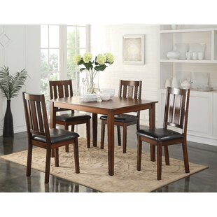 Kenyon 5 Piece Dining Set Millwood Pines