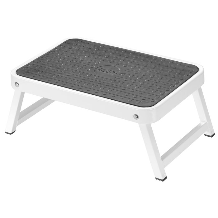 Remarkable 1 Step Steel Step Stool With 330 Lb Load Capacity Pabps2019 Chair Design Images Pabps2019Com