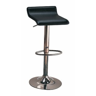 Woosley Backless Seat Adjustable Height Swivel Bar Stool (Set of 2) Orren Ellis