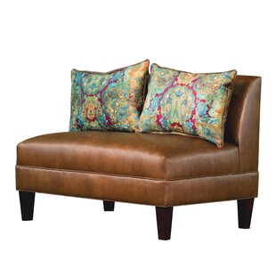 Briley Tracy Porter Armless Loveseat by Carolina Accents