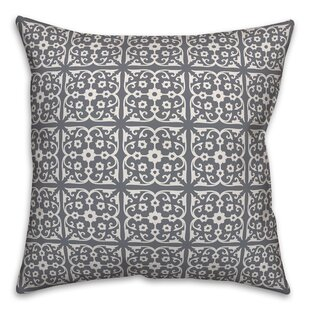 Manado Tile Throw Pillow