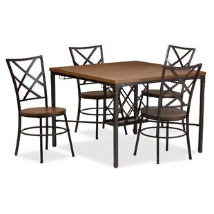 Latitude Run Calla 5 Piece Dining Set
