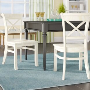 Beachcrest Home Wembley Solid Wood Dining Chair (Set of 2)