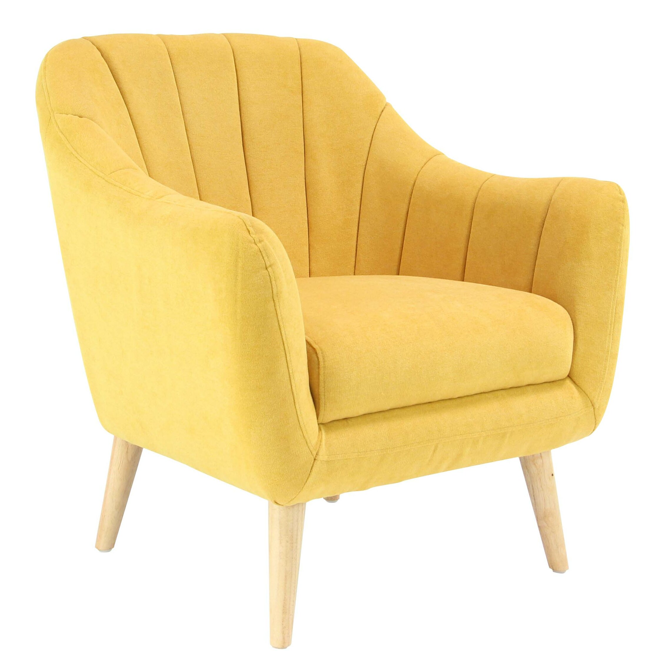 Delicieux George Oliver Veasley Modern Cushioned Armchair | Wayfair