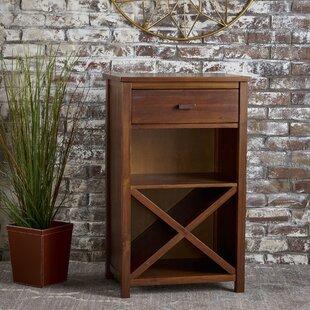 Beau Groveport Wood Bar Cabinet