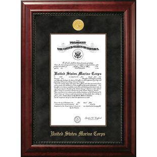 Marine Certificate Executive Picture Frame By Patriot Frames