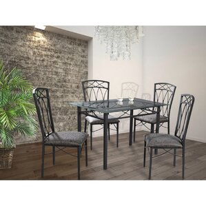 Del 5 Piece Dining Set by Red Barrel Studio