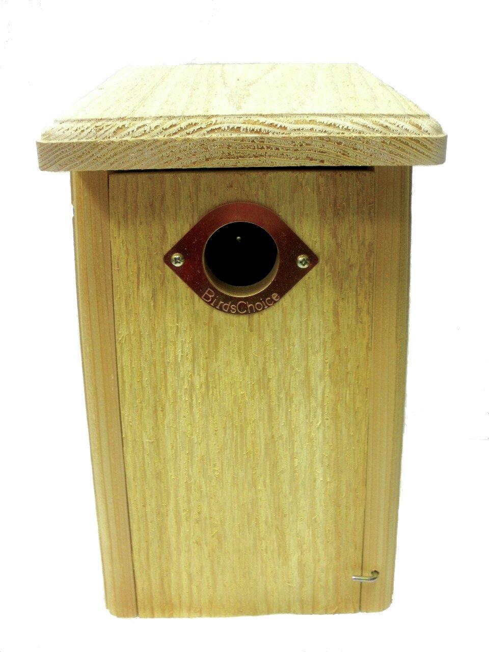 Birds Choice Cedar Nest Roosting Box 13 in x 8 in x 7 in Bluebird ...