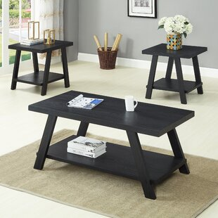 Winston Porter Filipek 3 Piece Coffee Table Set (Set of 3)
