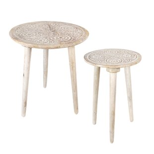 Lydney 2 Piece Side Table Set By Bloomsbury Market