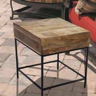 Affordable Novotny Functional Side Table by Union Rustic